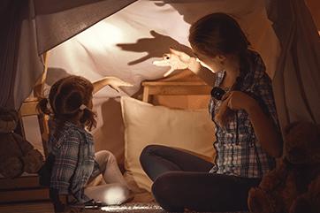 5 sposobów na zabawę podczas choroby dziecka | Junior Angin Blog