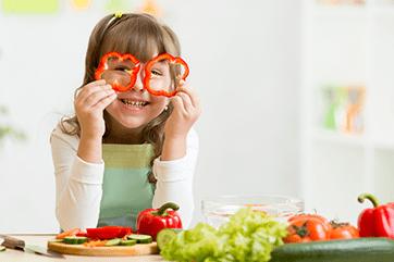 5 pomysłów na warzywa w diecie dziecka
