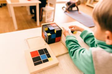 aktywności Montessori